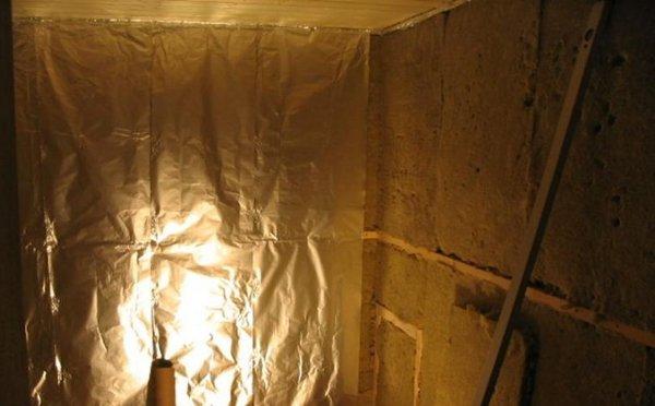 Stavba sauny v interiéru